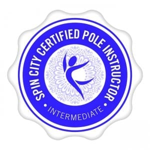 Spin City certified pole dancing instructors