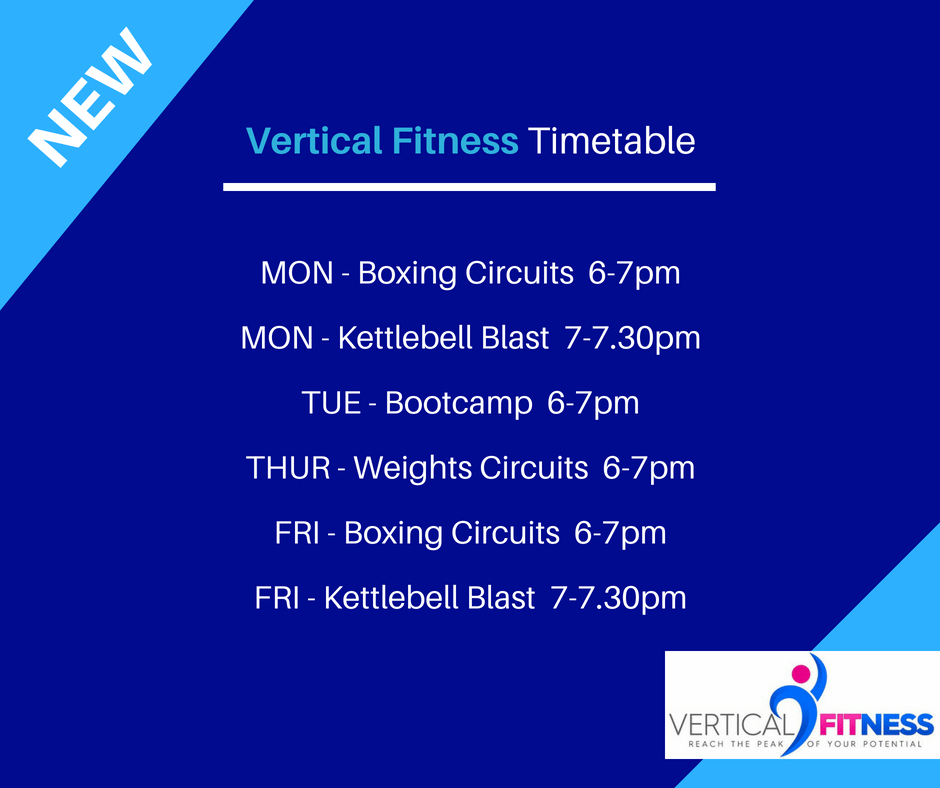 vertical fitness gainsborough timetable